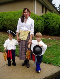 Halloween pirates
