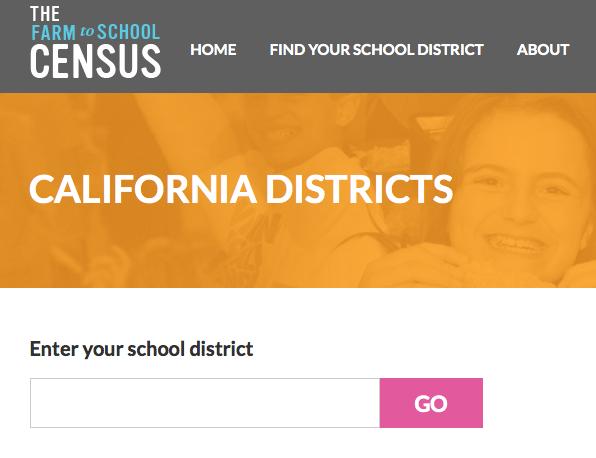 Farm to School census