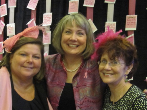 Dr. Mary Roy, Vickie Austin and Lesley Ronson Brown