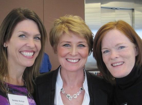 Debbie, Diane and Katie