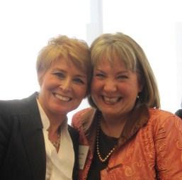 Diane Swonk and Vickie Austin