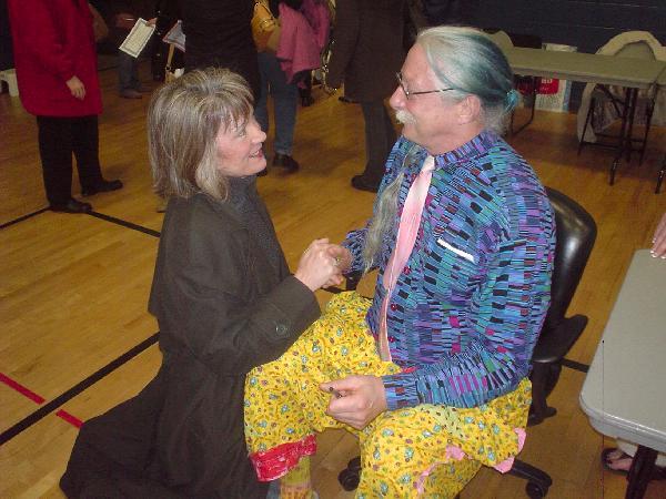 Vickie & Patch Adams