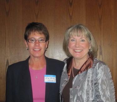 Kim Millhorn and Vickie Austin