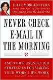 Never Check Email Book Cover