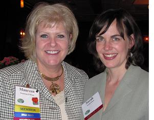 Maureen O'Brien & Sarah Finch
