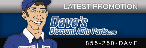 Dave's discount auto parts coupon
