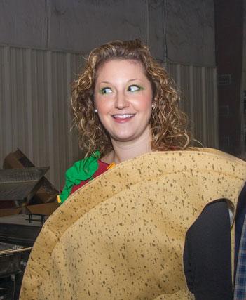 Magan as a taco