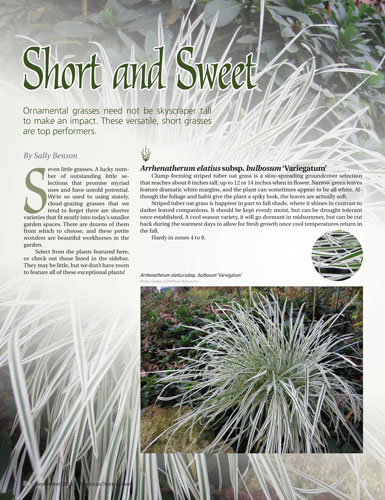 American Nurseryman article