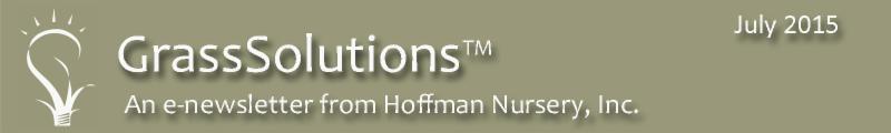 Hoffman Nursery Newsletter July 2015
