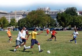 Playfield around Washington, DC