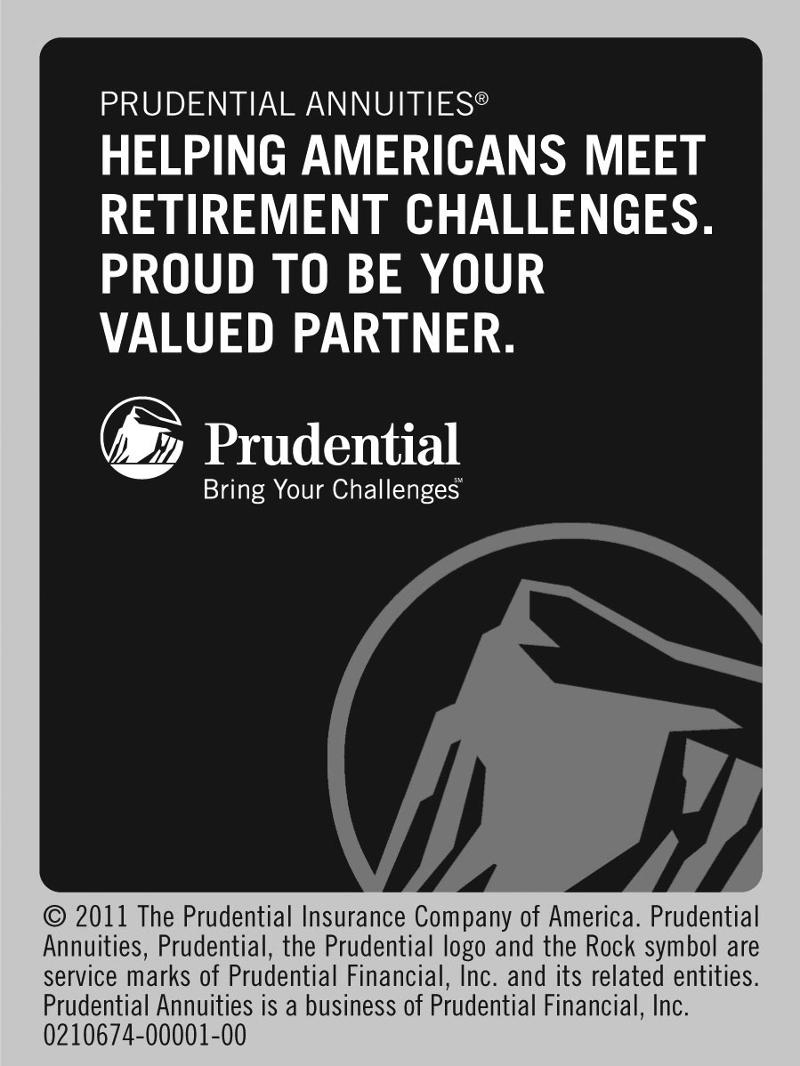 Prudential Ad for newsletter