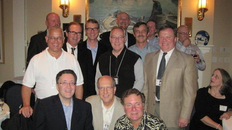 St. Joe's class of 1966 at Prep 40th reunion Oct 2010