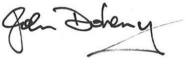 John Doheny Signature