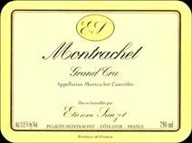 Sauzet Montrachet Label