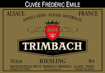 Trimbach Emile Label