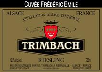 Trimbach Emile Label
