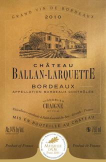 Ballan-Larquette Rouge Label