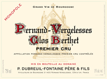 Dubreuil-Fontaine Berthet Blanc Label