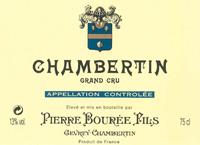 Bouree Chambertin Label