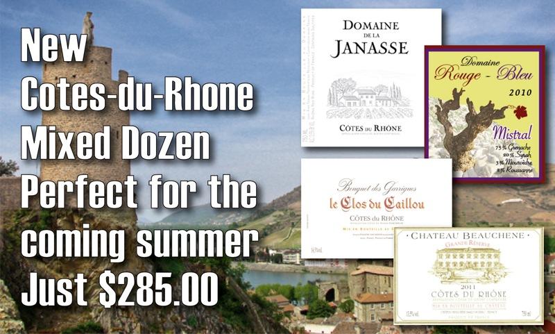 Cotes-du-Rhone Dozen Header