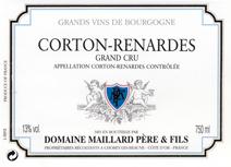 Maillard Corton Renardes label