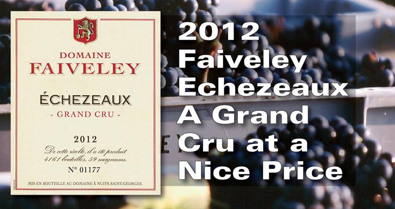 Faiveley Echezeux 2012 Header