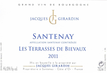 Girardin Terrasses Label