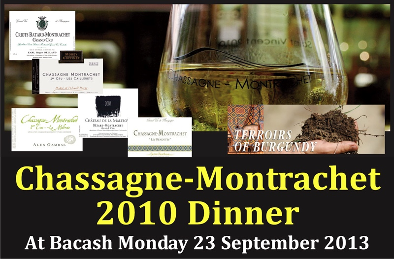 Bacash Chassagne Dinner Header