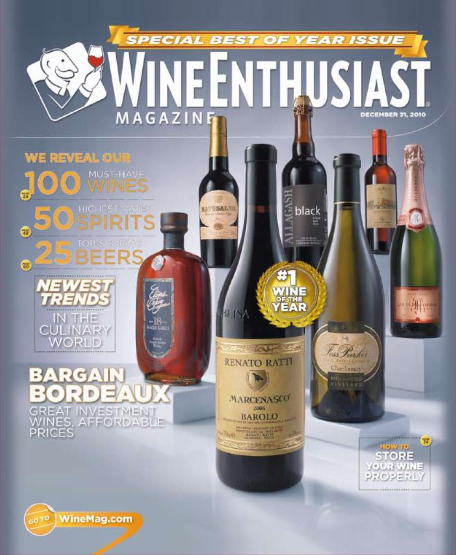 Ratti Wine Enthusiast Cover