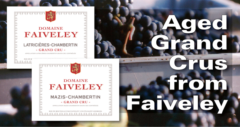 Faiveley Aged Grand Crus