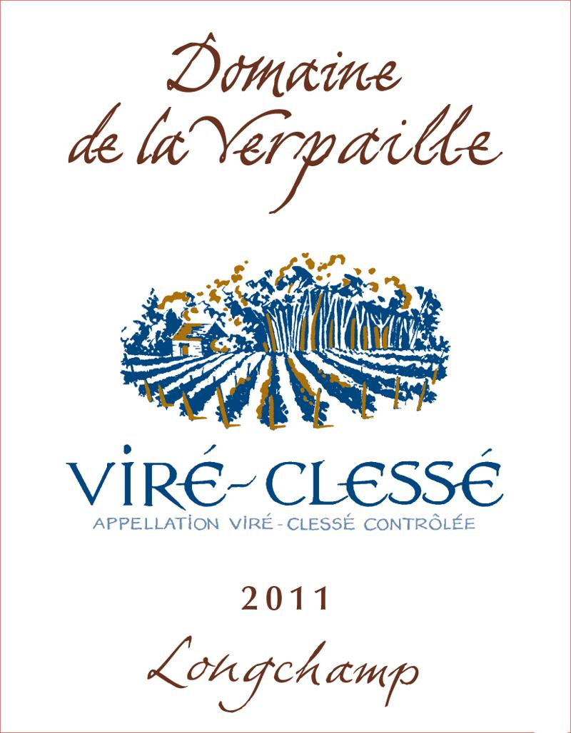 Verpaille Longchamps Label 2011