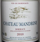 Bordeaux Mandrine Label