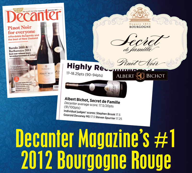 Bichot Bourgogne Decanter Header