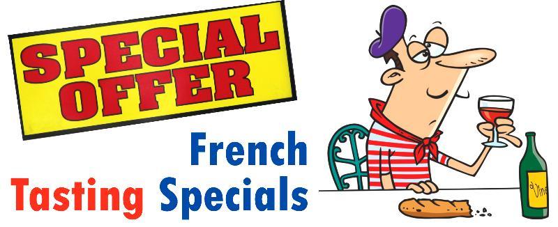 French Tasting Header