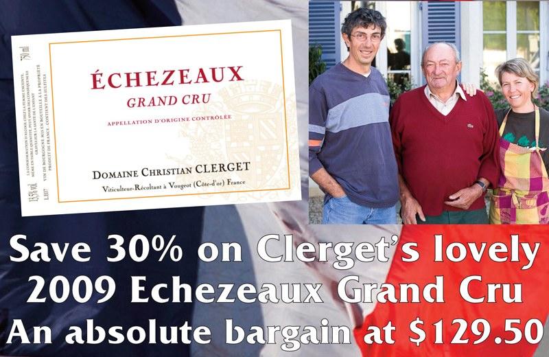 Clerget Echezeaux Header