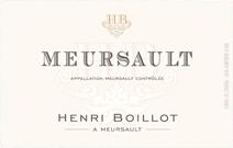 Boillot Meursault Label