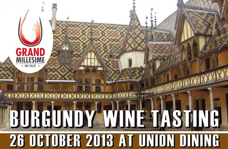 Union Dining Burgundy Tasting