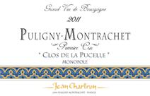 Chartron Clos Pucelle Label