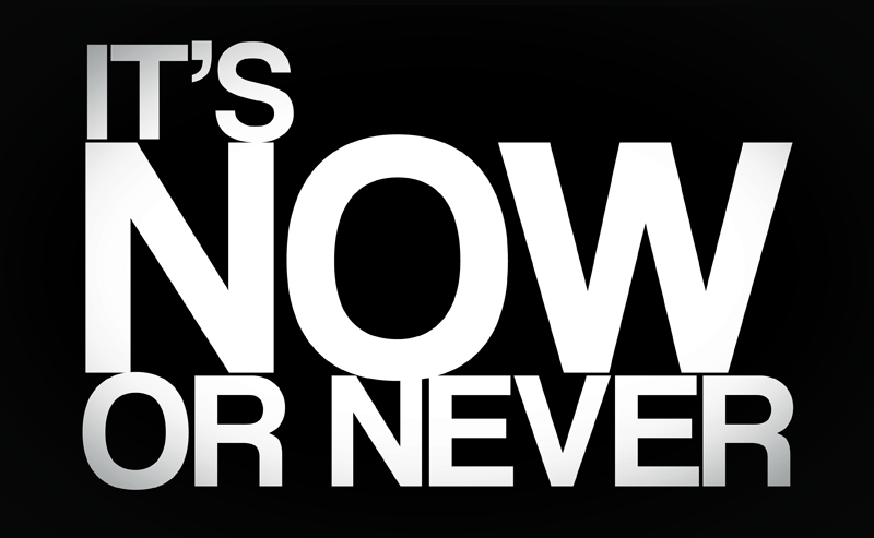 Now or Never Header