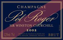 Pol Roger Churchill label