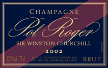 Pol Roger Churchill label