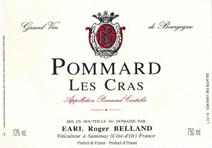 Belland Pommard Cras Label