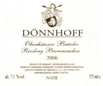 Donnhoff Label
