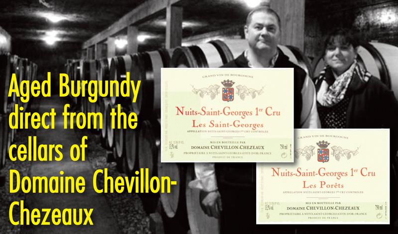 Chevillon-Chezeaux Aged Burgundy