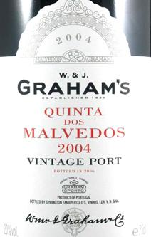 Grahams Malvedos 2004 Label