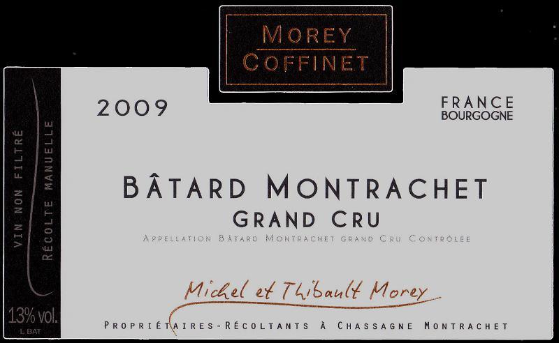 Morey-Coffinet Batard Label Black