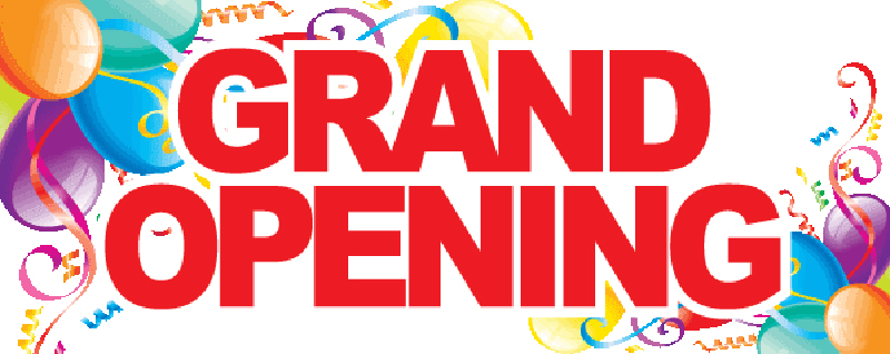 Grand Opening Header