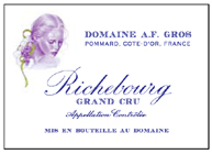 A-F Gros Richebourg Label 2