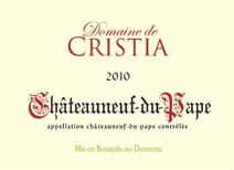 Cristia Chateauneuf 2010