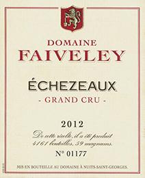 Faiveley Echezeaux Label